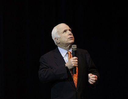 The biggest divide between the Republican candidate John McCain and his Democrat rivals is Iraq.