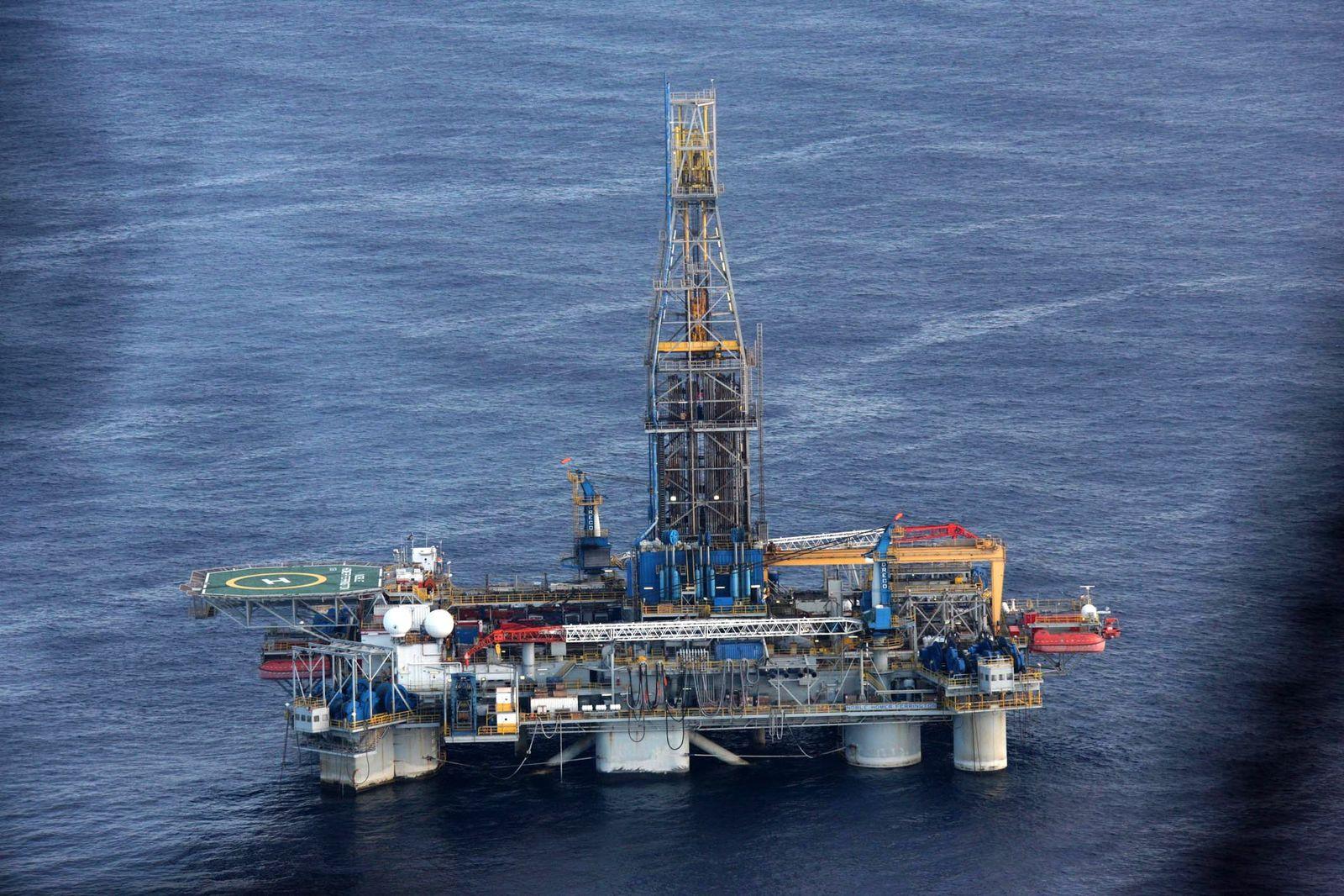 Zypern / Ölbohrung