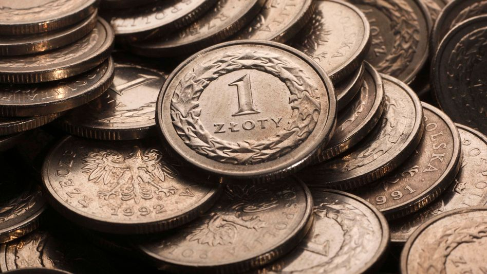 Zloty-Münzen: Nachrichtensites wollen von ihren Nutzern bezahlt werden