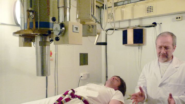 "Strahlenmessung: Besuch im ""Body Counter"""