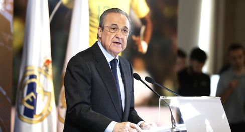 Florentino Pérez, president of Real Madrid and the Super League
