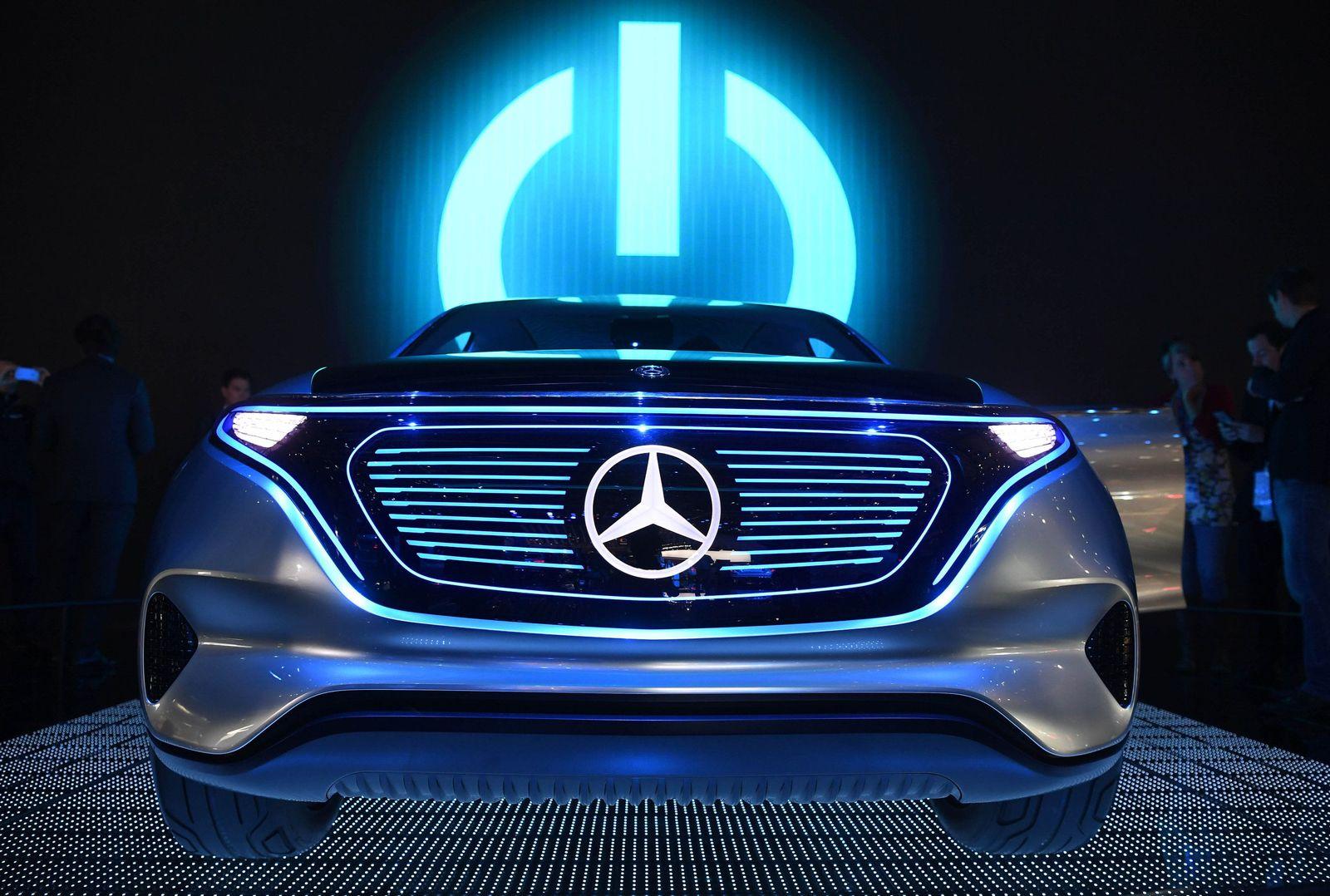 Mercedes EQ Autosalon Paris