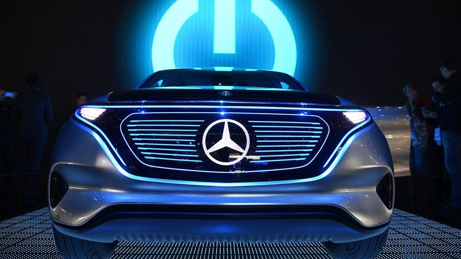 Elektroauto-Studie von Mercedes