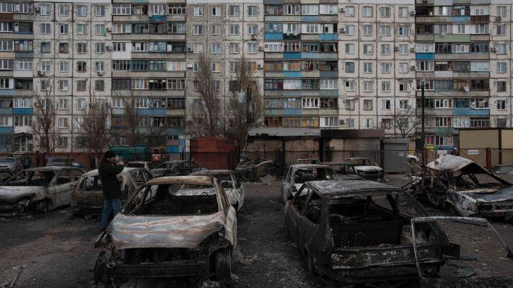 Ostukraine: Mariupol unter Schock