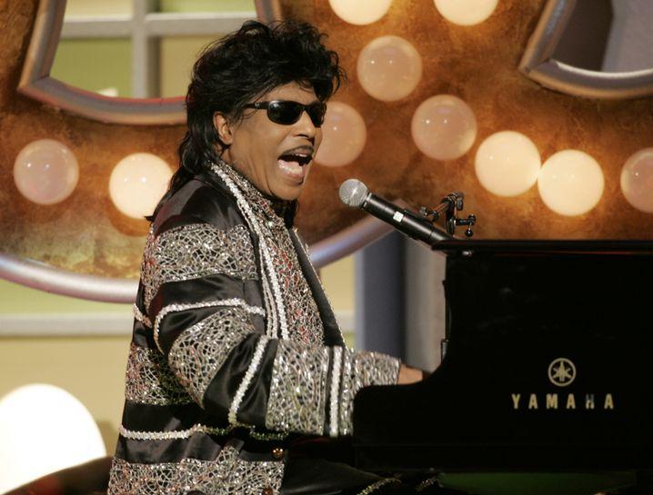 """Little Richard 2005 in Santa Monica: """"Die Rolling Stones haben mit mir angefangen, aber sie werden immer vor mir sein"""""""