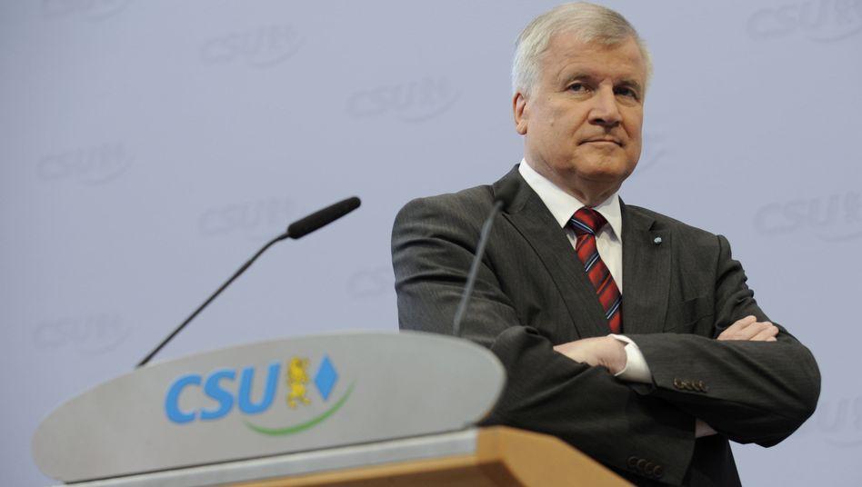 CSU-Chef Seehofer: Fahndung nach dem Durchstecher
