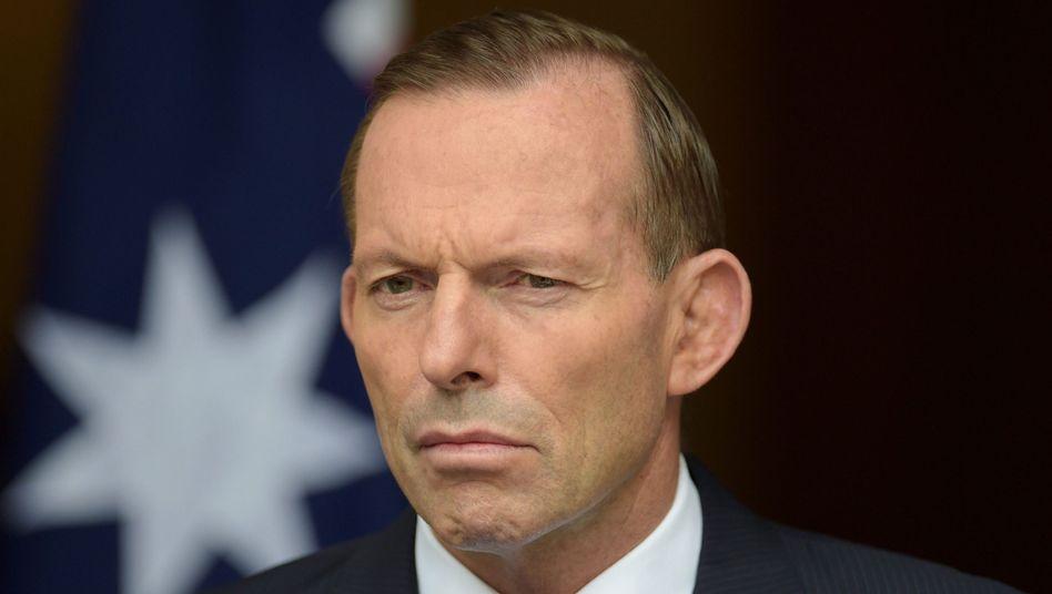 """Regierungschef Abbott: """"Warum sagen Sie so viele dumme Sachen?"""""""