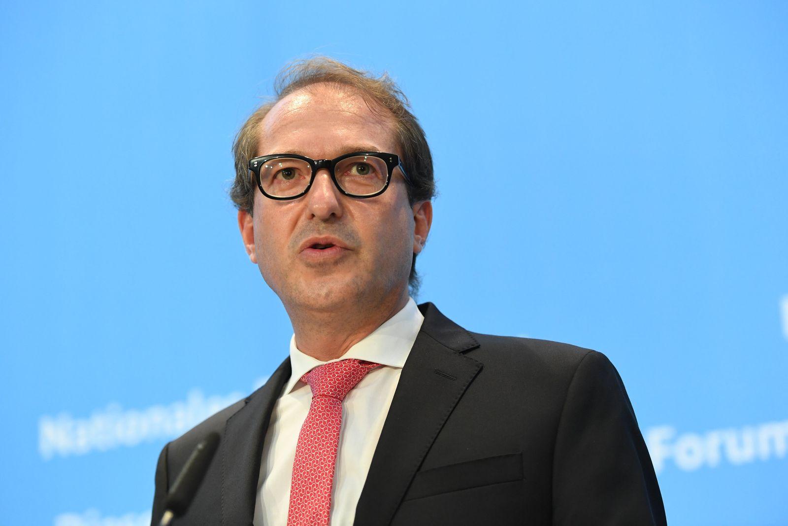 Alexander Dobrindt / Diesel-Gipfel