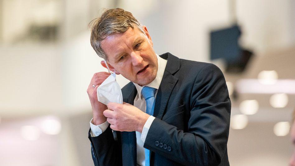 Björn Höcke, Thüringer AfD-Landeschef (im Februar 2021)