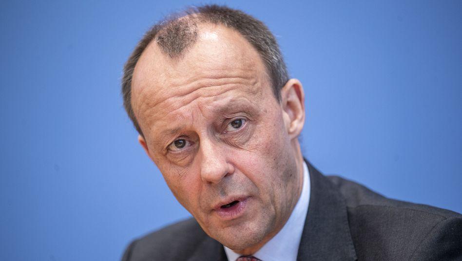"""Zukunft der CDU: Merz bestreitet Streben nach """"Rechtsruck"""" der Partei"""