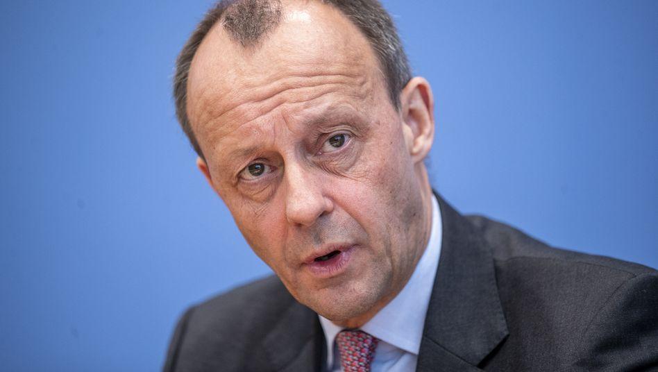 Merz in Berlin: Er ist einer von drei Kandidaten, die bisher offiziell ihre Kandidatur um den CDU-Vorsitz angekündigt haben