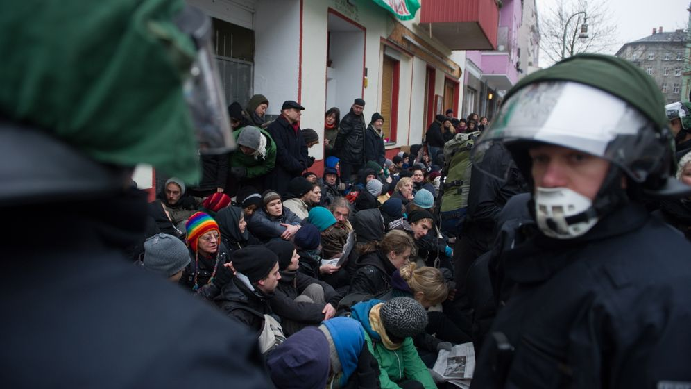 Photo Gallery: Protests Over Forced Eviction