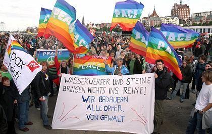 """Demonstranten in Rostock: """"Eskalation, die wir nicht wollten"""""""