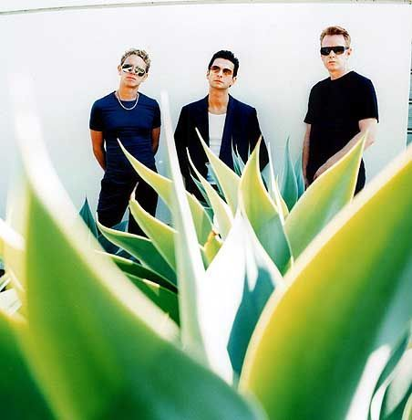 """""""Jetzt haben die Käufer das letzte Wort"""": Depeche Mode (Martin Gore, Dave Gahan, Andrew Fletcher, v.l.)"""