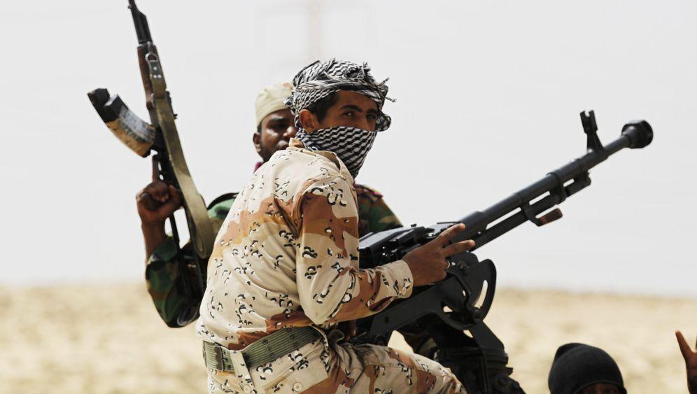 Libyens Rebellen: Chaos beim Rückzug