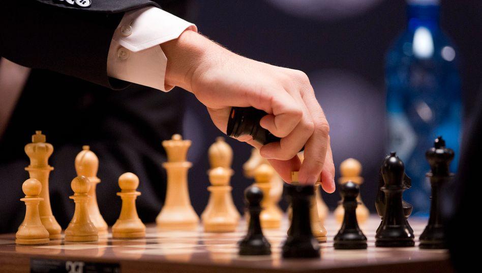 Schach wurde bei der Olympaide nicht am Brett, sondern online gespielt