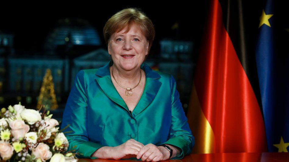 """Angela Merkel: """"Die Erwärmung unserer Erde ist real. Sie ist bedrohlich"""""""