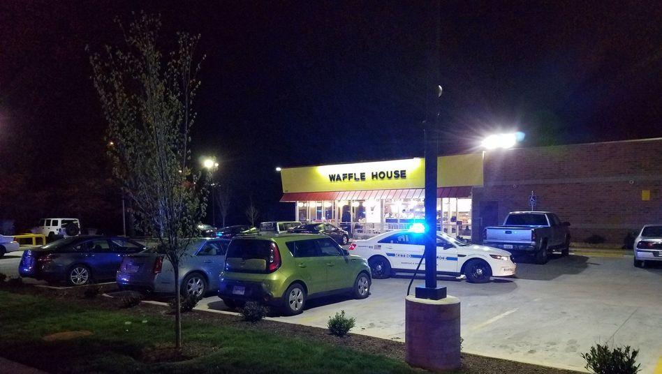 Waffle House am Stadtrand von Nashville