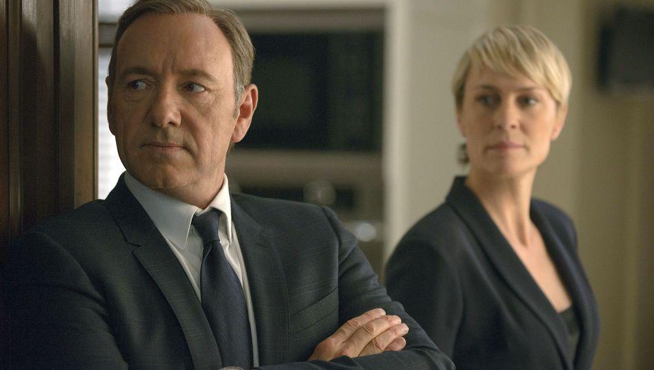 """Szene aus der Netflix-Eigenproduktion """"House of Cards"""": Deutschlandstart noch für 2014 geplant"""