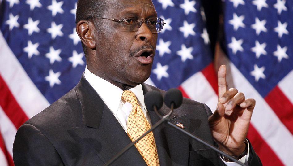 """Herman Cain: Schmerzhafte Erfahrungen """"für mich und meine Familie"""""""