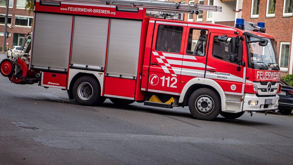 Feuerwehrfahrzeug in Bremen (Archivbild)