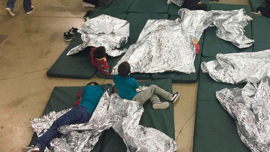 Flüchtlingskinder in den USA