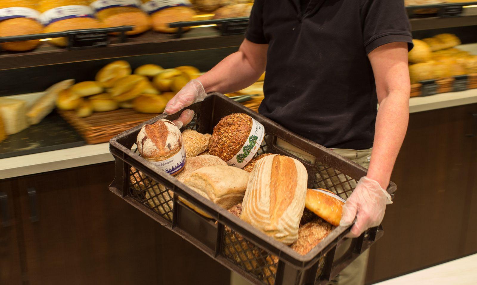 Untersuchung / Verschwendung von Brot
