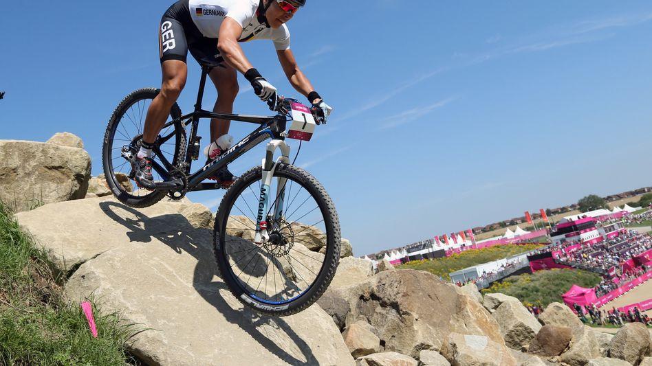 Radsportlerin Spitz: Silber im Mountainbikerennen