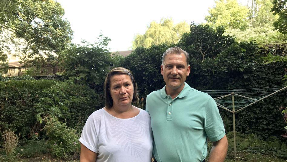 Leila Hansen mit ihrem Lebenspartner Thomas Falke