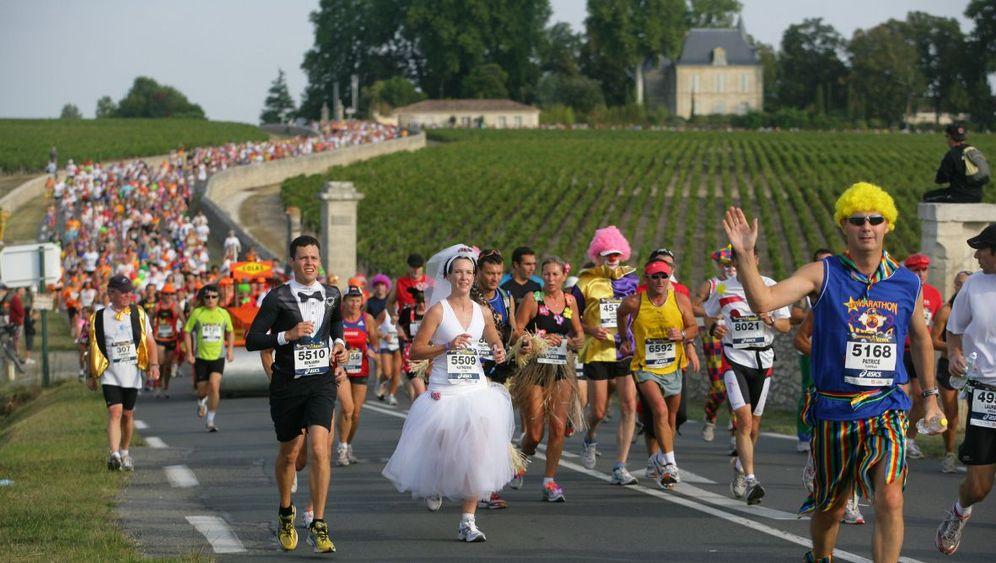 Laufen und Saufen: Marathon einmal anders