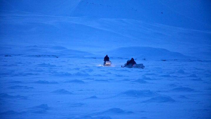 Michael Martin in Spitzbergen: Spurensuche an der Ostküste