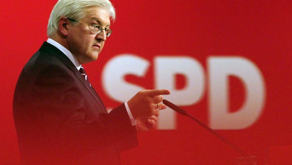 Frank-Walter Steinmeier: Der SPD-Kanzlerkandidat setzt weiter auf eine Ampelkoalition
