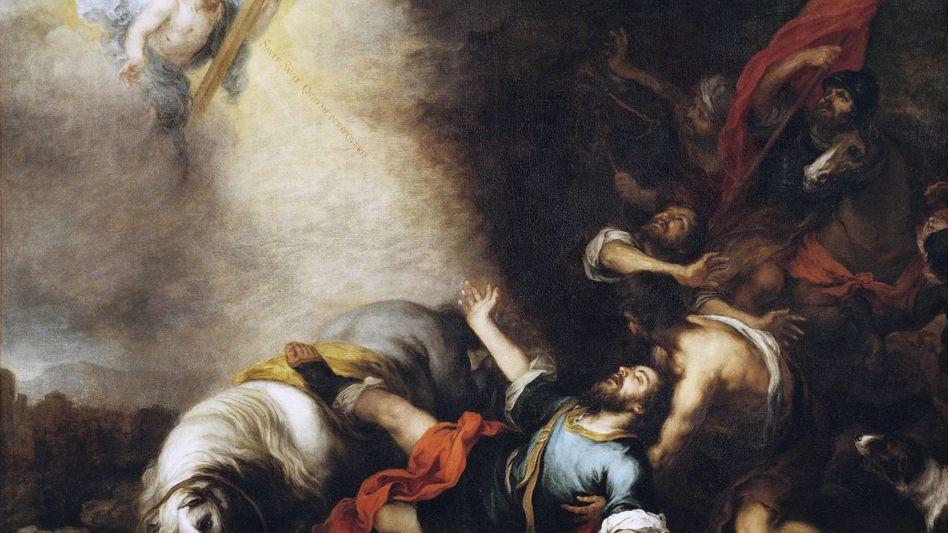 »Bekehrung des Paulus« Gemälde von Bartolomé Esteban Murillo, um 1675