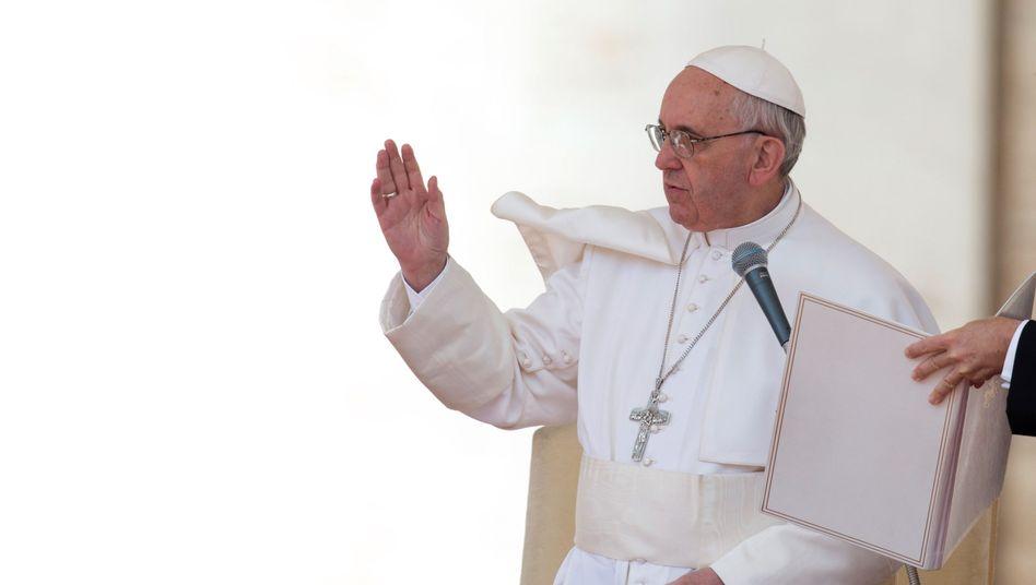 Papst Franziskus: Reform der Kurie eingeleitet