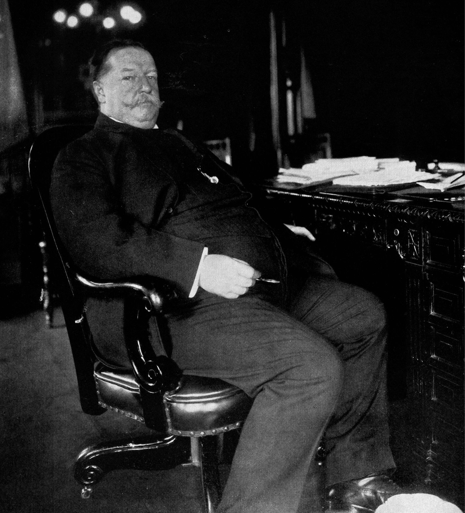 Photograph of William Howard Taft 1857 1930 27th President of the United States and later Chief Ju