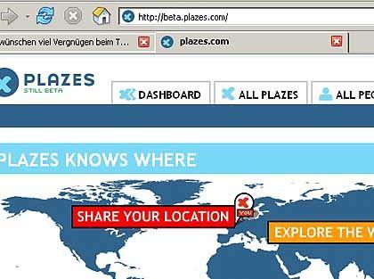 Plazes.de: Web-2.0-Gemeinschaft