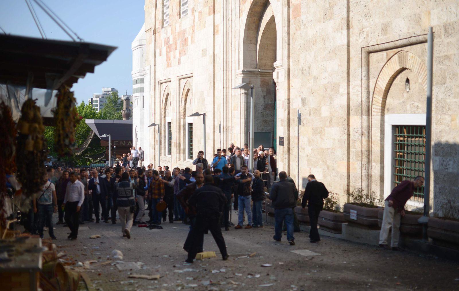 Anschlag Bursa