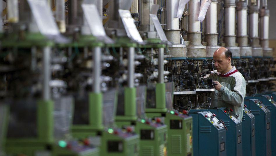 Strumpffabrik bei Brescia in Italien: Inzwischen wieder Kostenvorteile