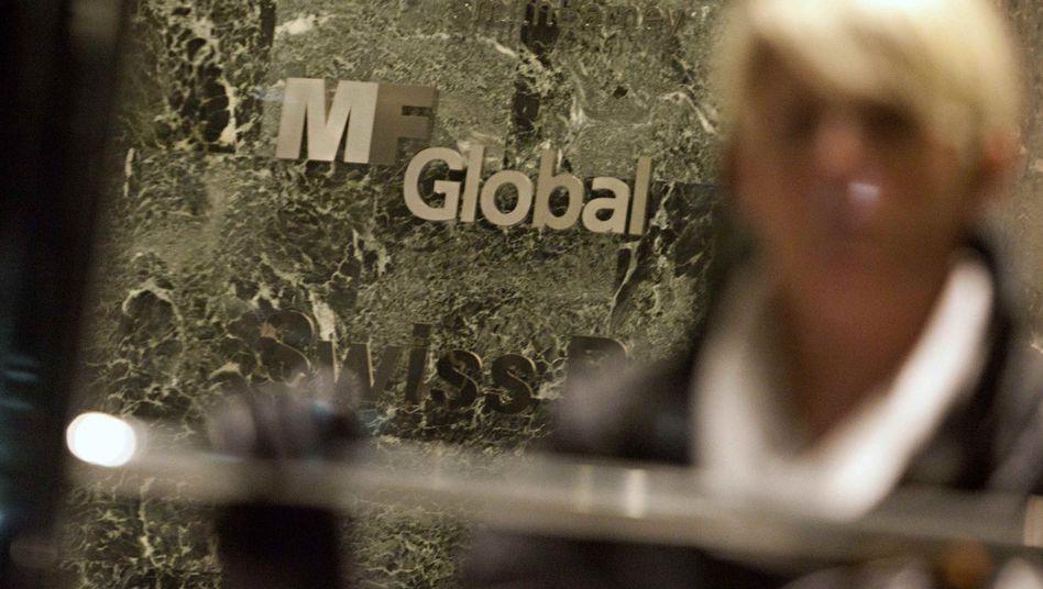 MF-Global-Büro in Manhattan: Opfer der Euro-Schuldenkrise