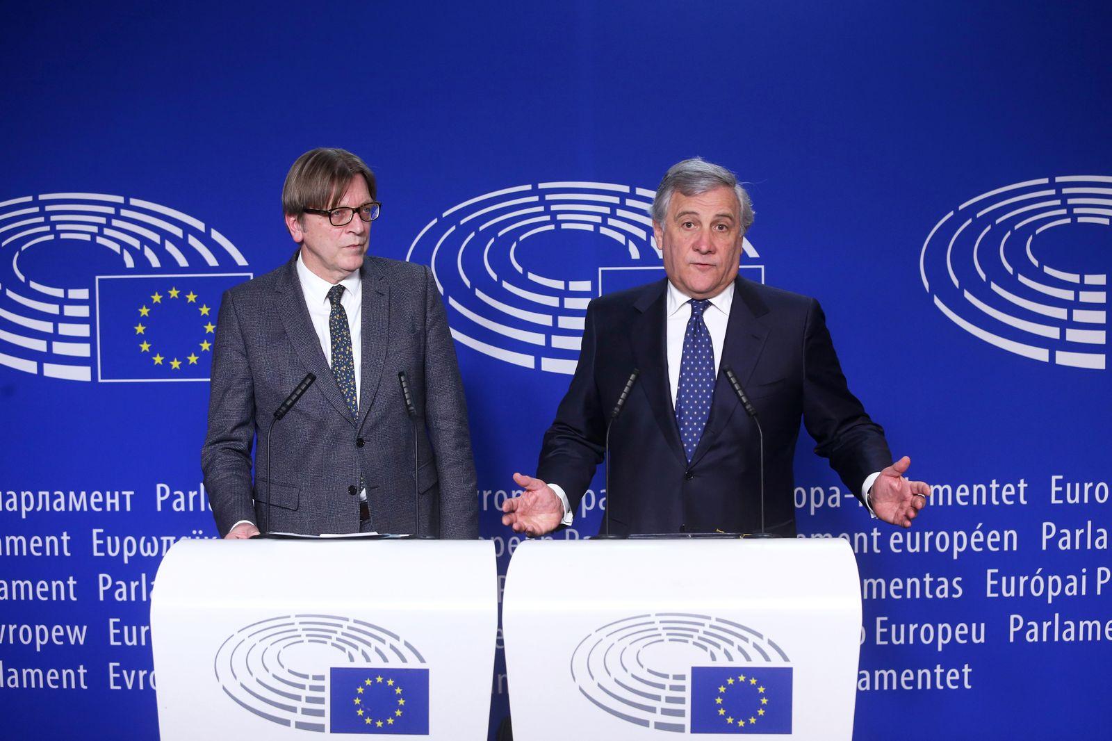 Antonio Tajani/ Guy Verhofstadt