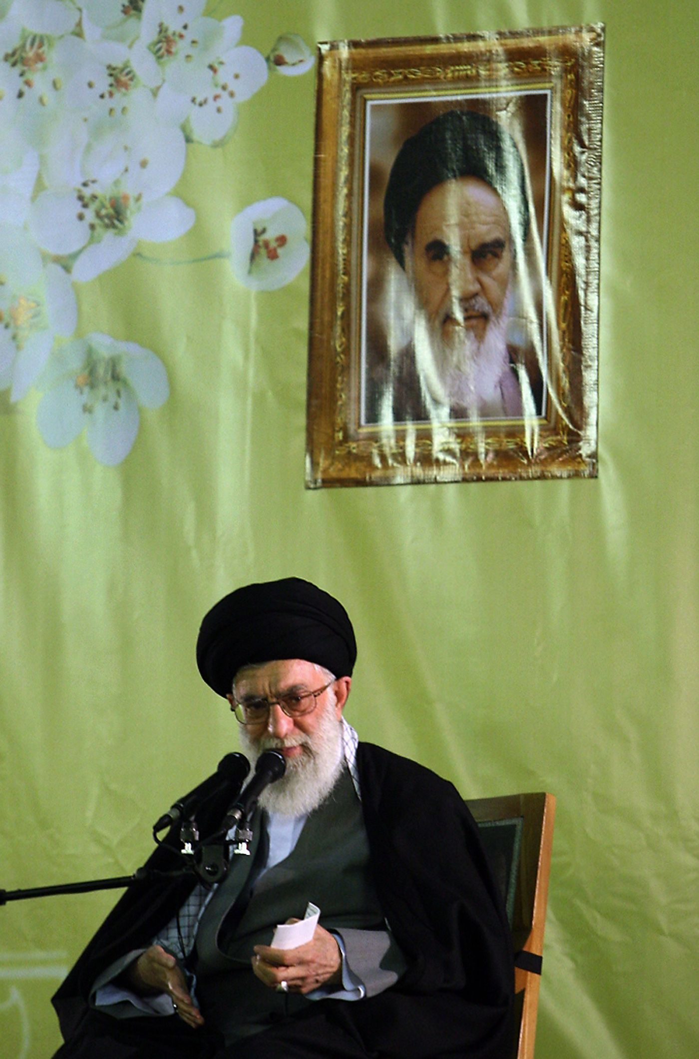 IRAN-POLITICS-KHAMENEI