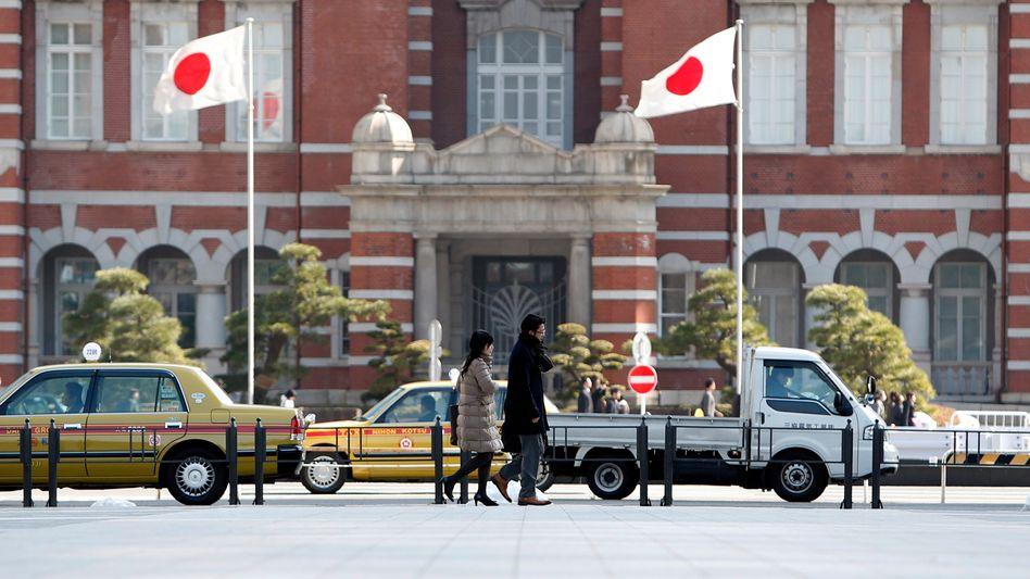 Fußgänger in Tokio: Schwächeres Wachstum in Japan als erhofft