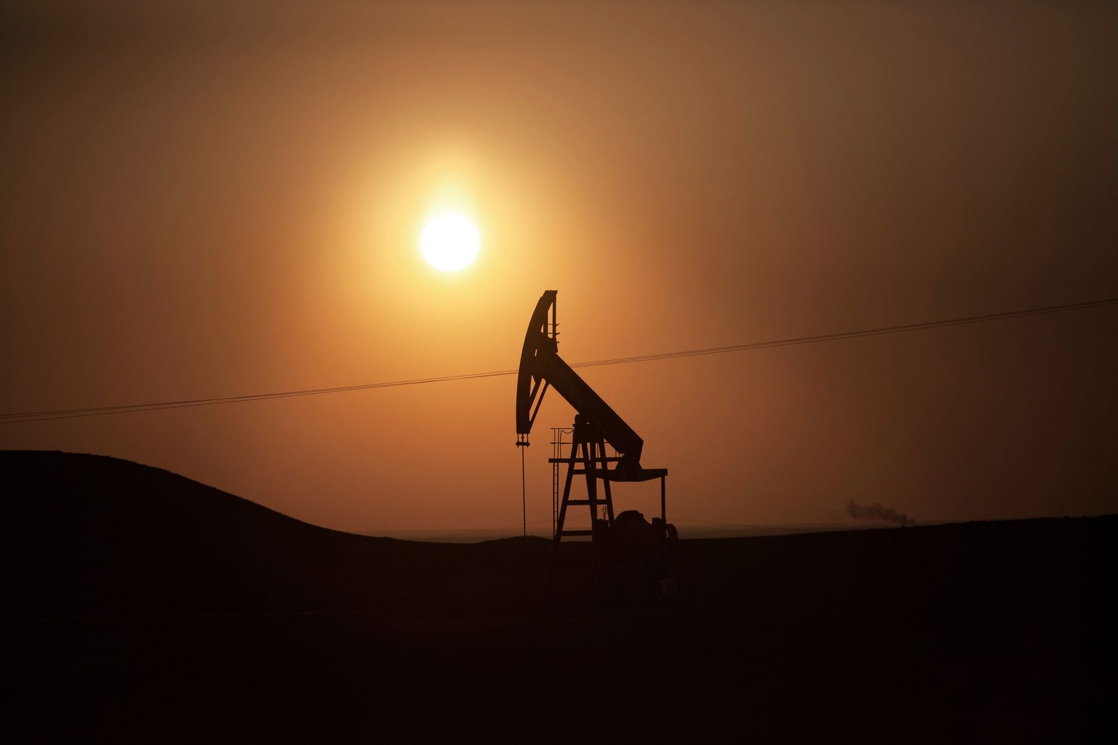 Syrien Öl-Förderung / Ölfeld