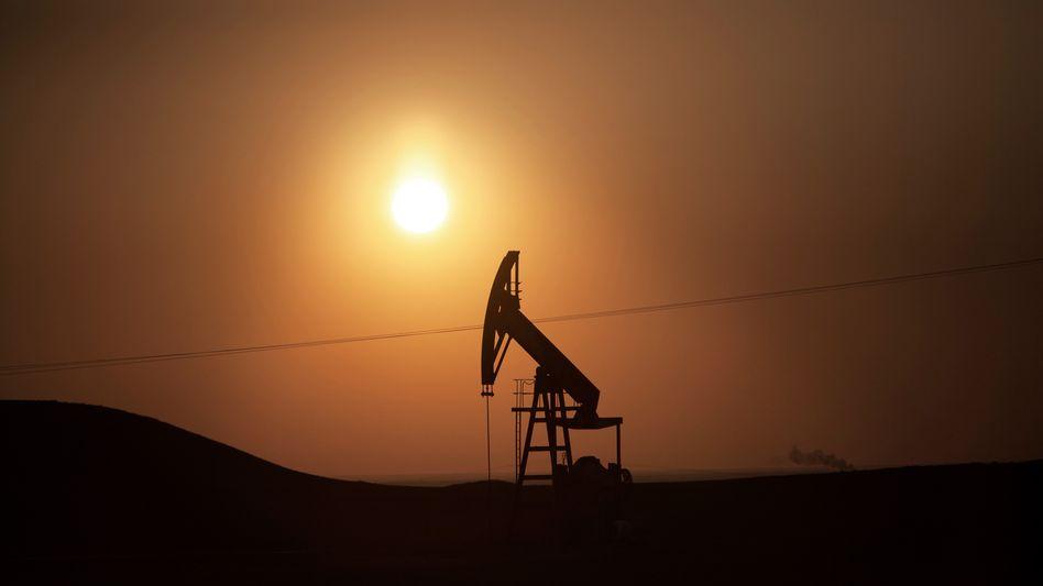 Ölfeld nahe der syrischen Stadt Derik: Nervöser Ölmarkt