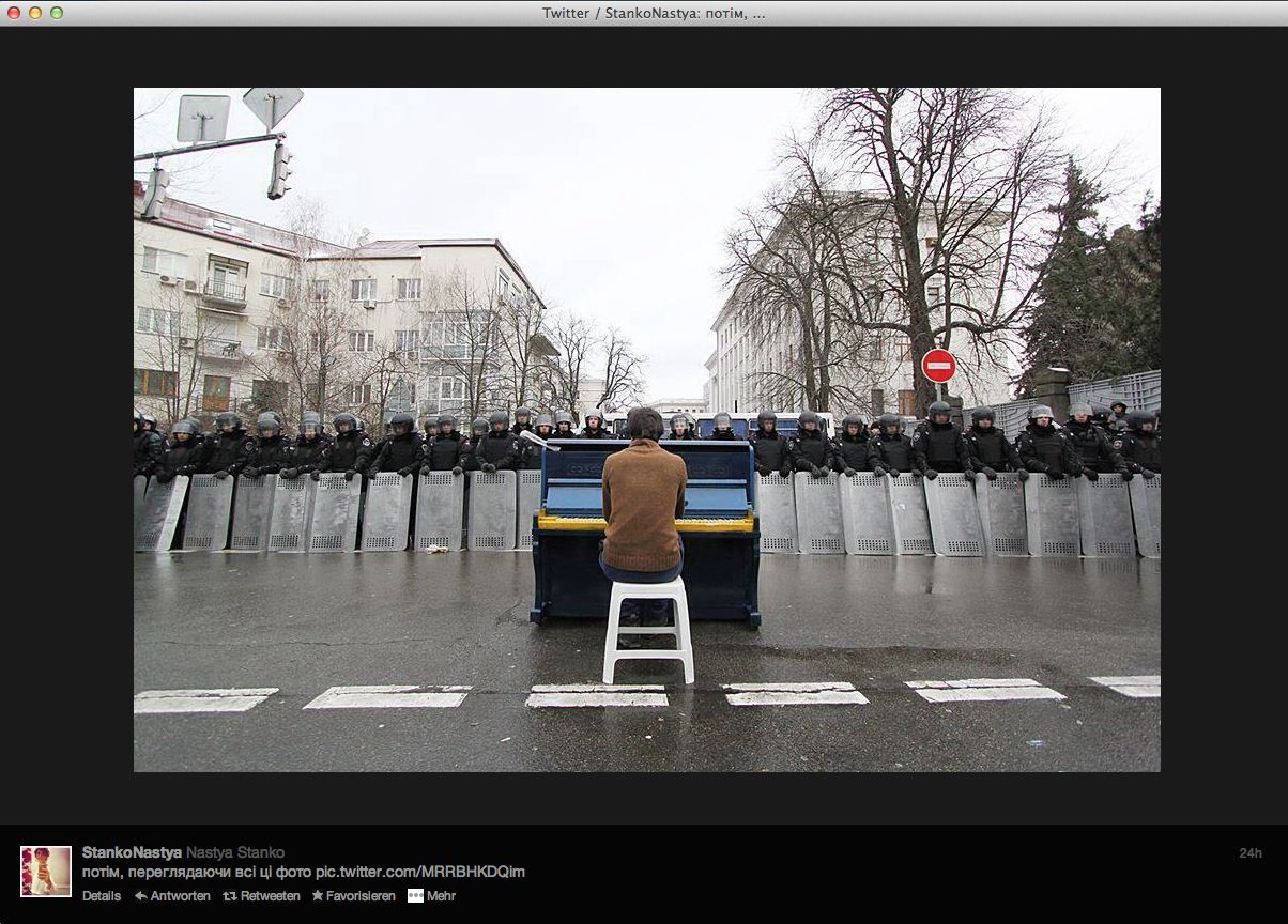 NUR ALS ZITAT Screenshot / Twitter / Kiew