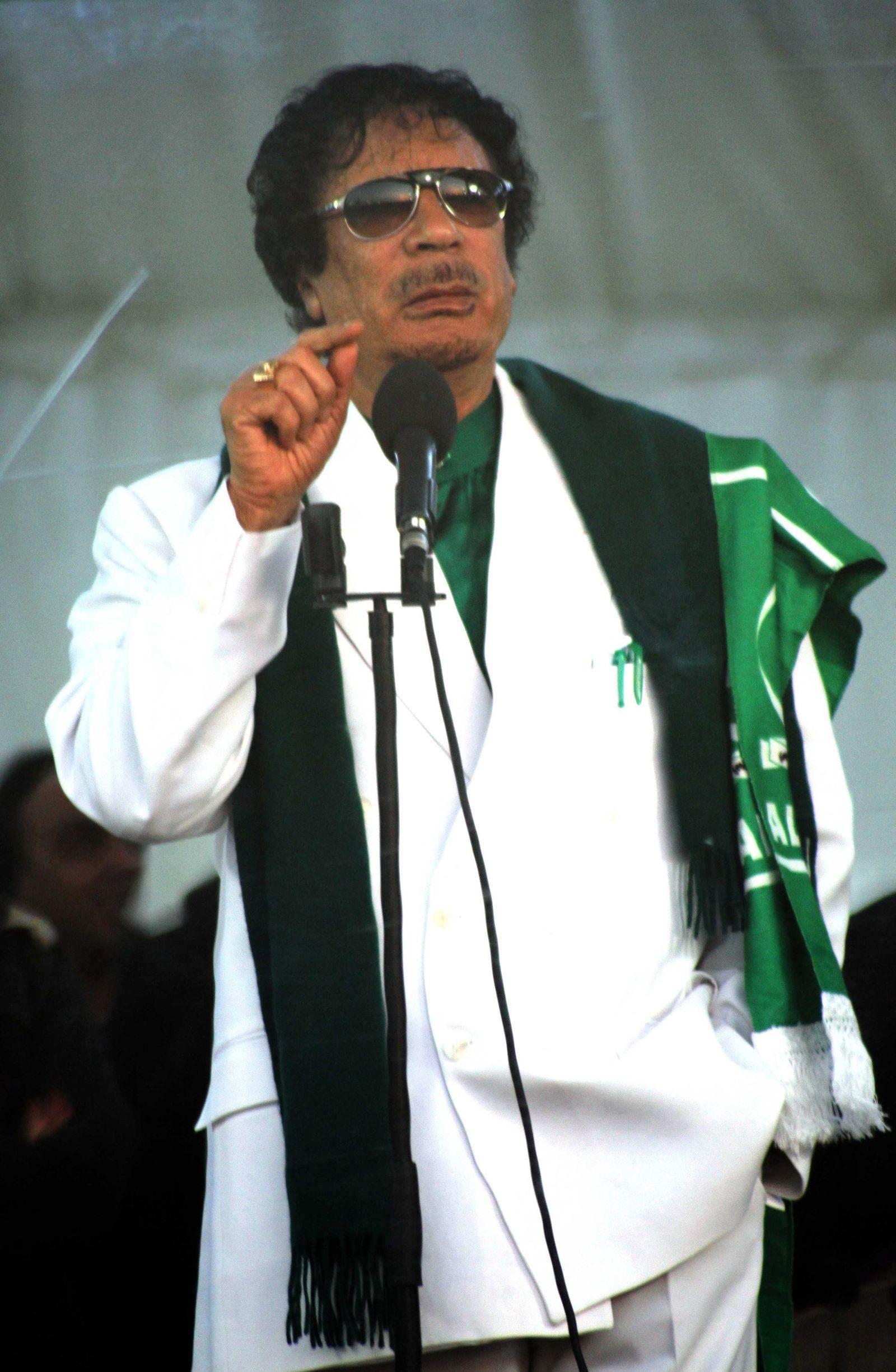 Muammar Gaddafi / Rede