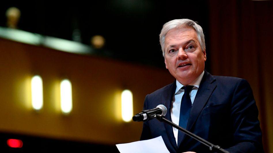 EU-Justizkommissar Didier Reynders: kein Überblick über Zahl und Höhe der DSGVO-Bußgelder