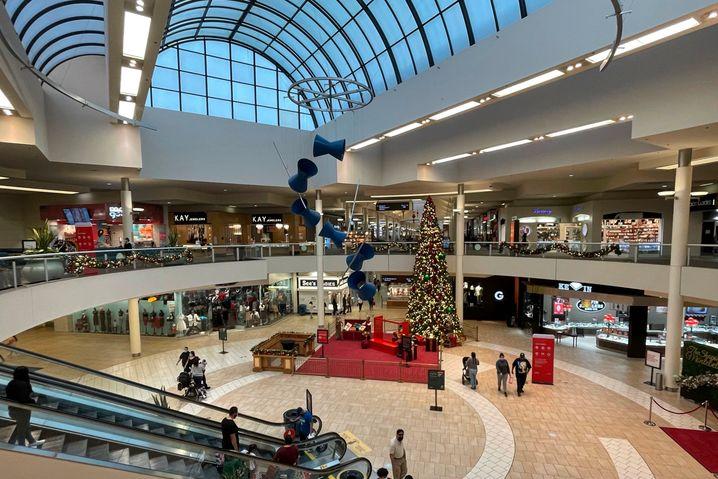 Mall in Montebello, Kalifornien: Ihre Existenz hängt zumeist von den großen Kaufhäusern ab, sogenannten Ankergeschäften