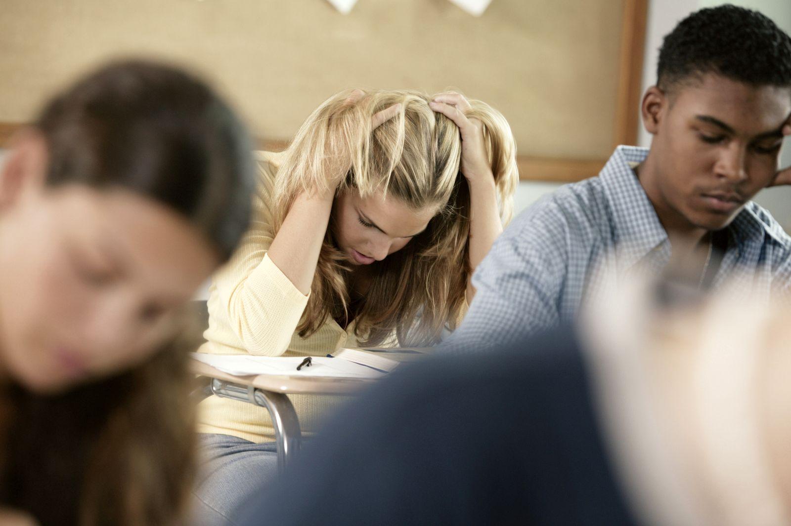 NICHT MEHR VERWENDEN! - Prüfungsangst / Studenten / Prüfung / Angst / Stress
