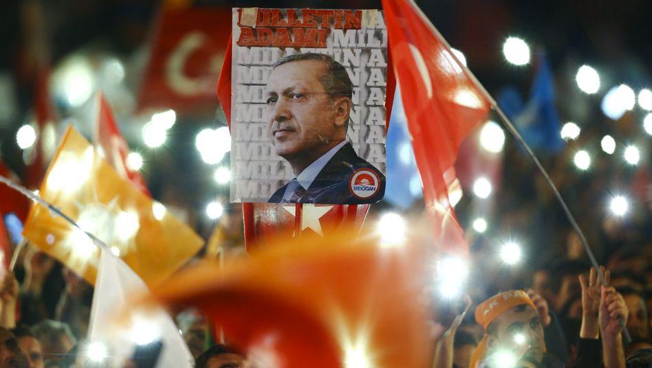 Turkish President Recep Tayyip Erdogan: a volatile autocrat and Europe's best friend.